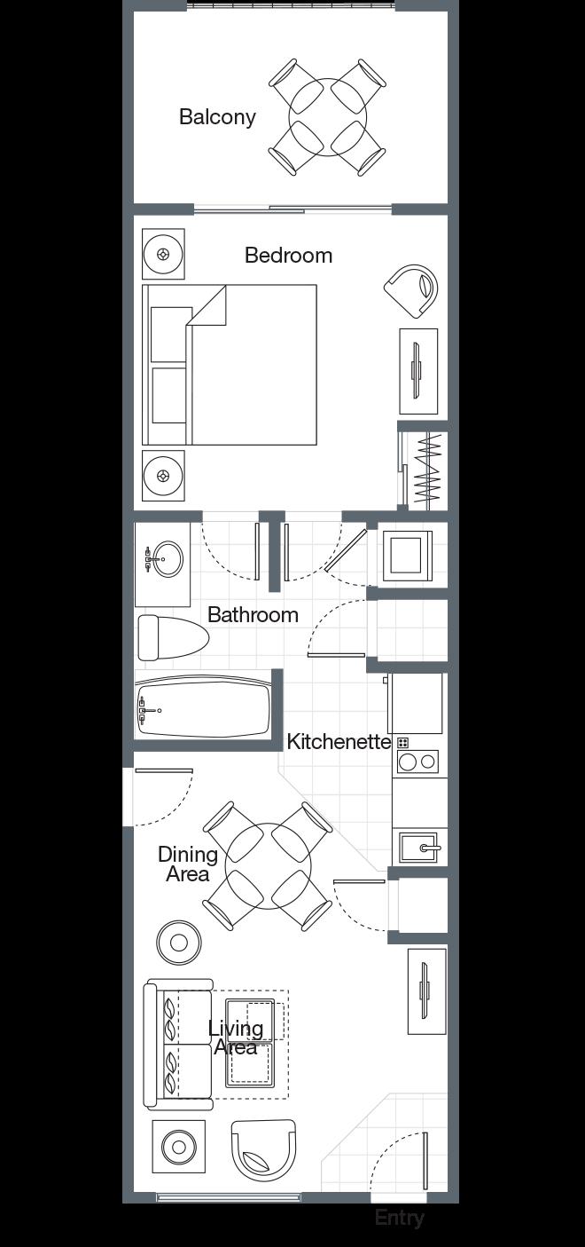 One Bedroom Villa Sheraton Vistana Villages Electrical Plan