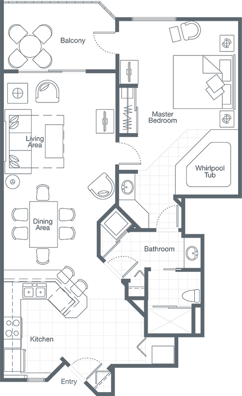 Sheraton vistana resort floor plans meze blog for Sheraton broadway plantation floor plan