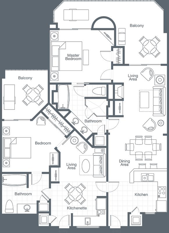 The Westin Mission Hills Resort Villas Two Bedroom Lockoff Villa